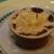 Крем-карамель из геркулеса с запеченными яблоками