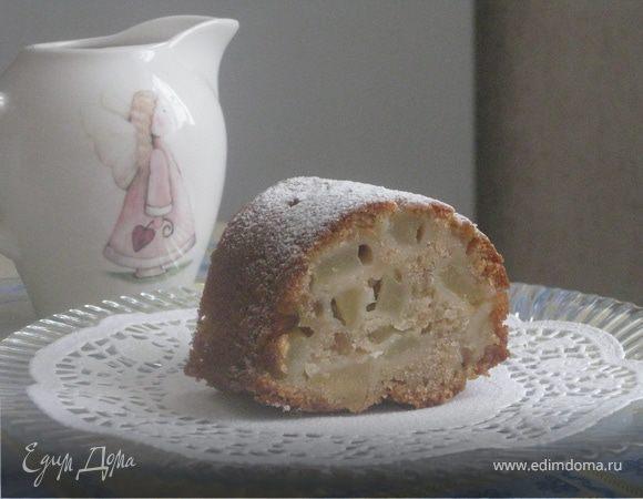 Медово-грушевый пирог (постный