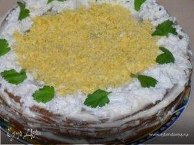 Печеночный торт (облегченный)