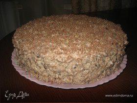 Любимый торт с черносливом