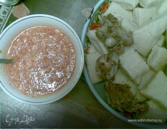 аварский хинкал рецепт соус