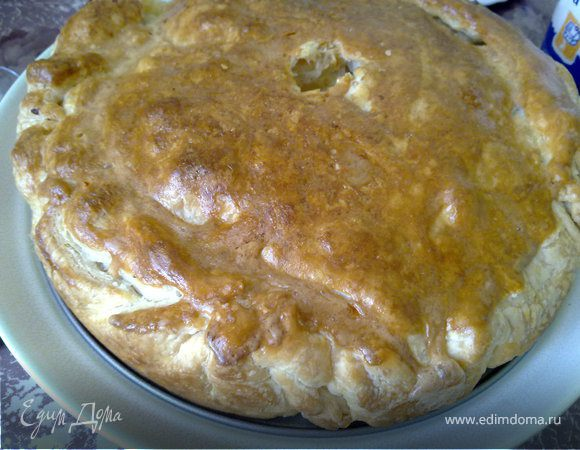 Кубите(татарский мясной пирог)