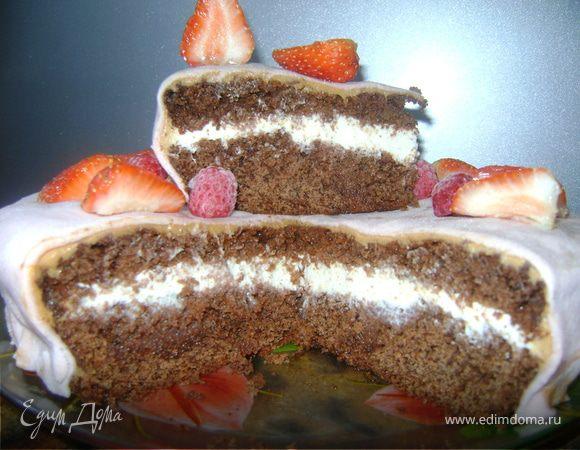 """Торт """"Лето в шоколаде"""""""