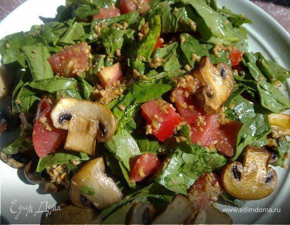 Салат-шпинат