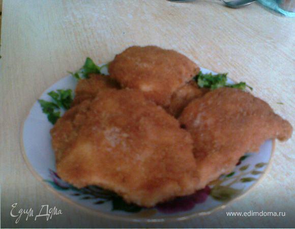 Куриное филе в крекерах