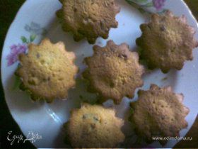 Кексы с орешками