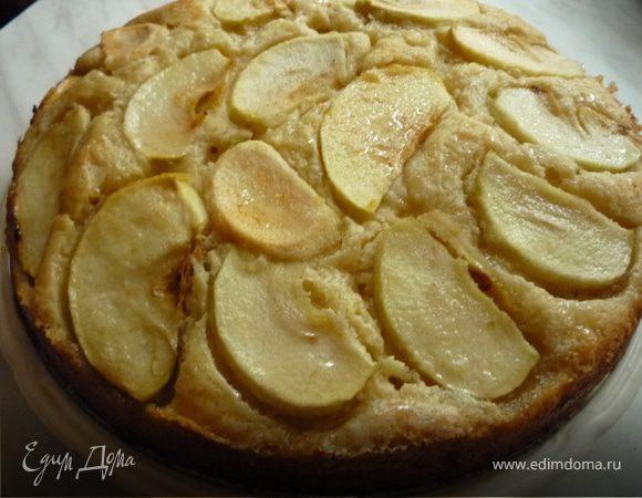 Яблочно-медовый пирог