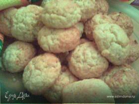 Печенье с кокосовой стружкой