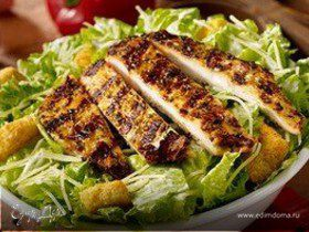 Салат из куриной грудки и авокадо