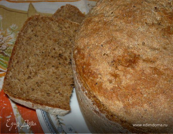 Ржаной хлеб в мультиварке - пошаговый рецепт с фото на Повар.ру | 450x580