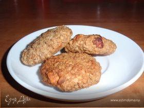 Орехово-овсяное печенье