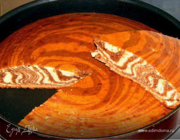 Полосатый пирог