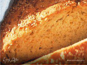 Хлеб с кабачками, луком и укропом