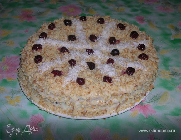 """Торт """"Творожное удовольствие"""""""
