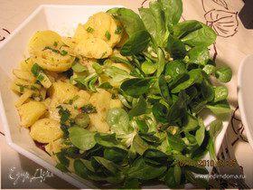 Австрийский картофельный салат (Kartoffelnsalat)