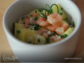 Экзотический салат от Гули