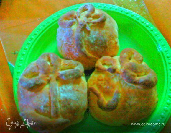 Пирожки со сладким мясным фаршем