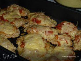 Цыпленок пармезан