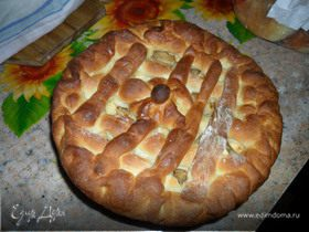 Пирог с яблоками от Александры