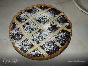 Пирог из черники
