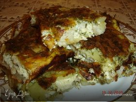 Тилапия с картофелем под соусом