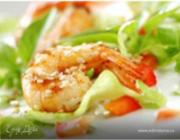 Салат из коктейля морепродуктов рецепт очень вкусный 111