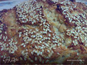 Хлеб домашний на кефире со злаками