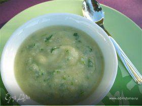 Суп из артишока и кресс-салата «Вечная молодость»