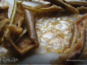 Карамелизированные яблочные чипсы