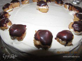 """Торт """"Шоколадно-банановый"""""""