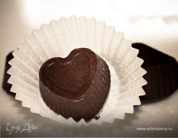 Шоколадные конфеты с желе