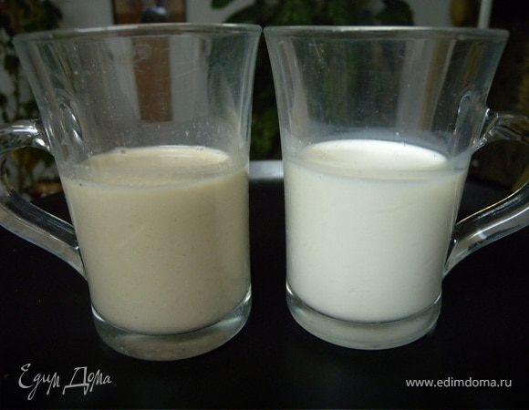 Миндальное, маковое молоко (+ постный вариант)