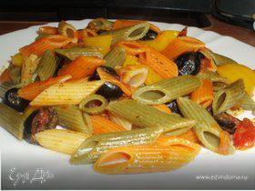 Паста с овощами