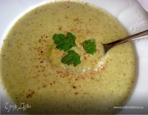Крем-суп с брокколи
