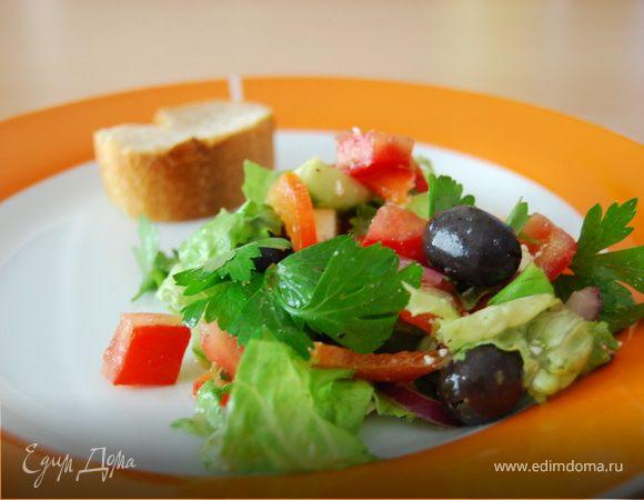 Греческий салат. Мой вариант