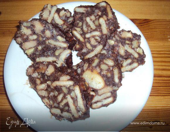 """Шоколадные колбаски """"Макулябки"""""""