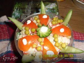 Красно-зеленый салат