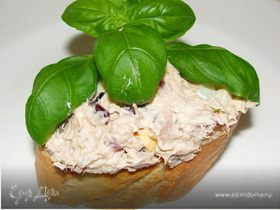Крем-паста из тунца