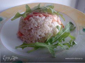 Арроз кон коко и камаронес (рис с кокосом и криветками)