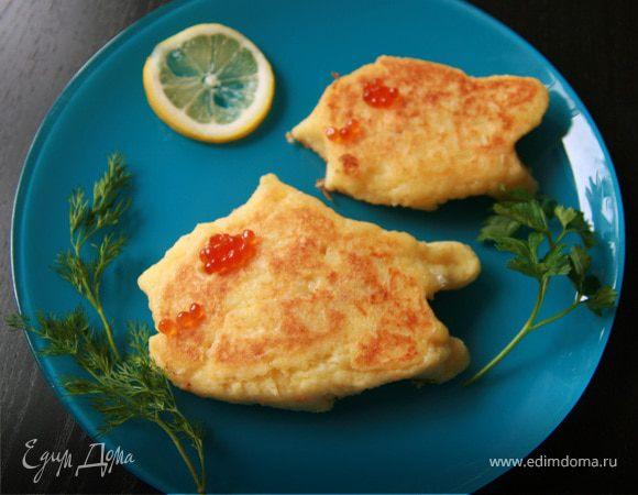 Картофельные рыбки (с начинкой)