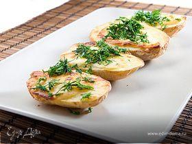картофель запеченный с плавленным сыром VIOLA