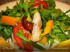 Греческий пикантный салат