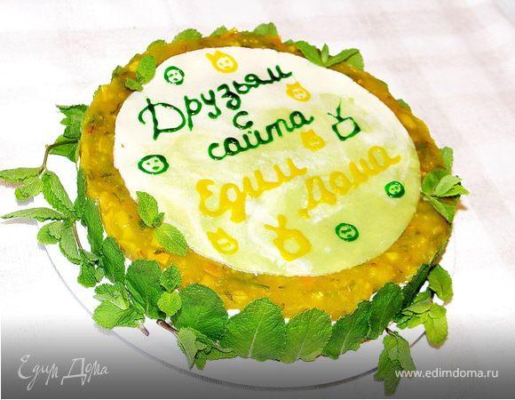 """Торт """"Мятный бриз"""""""