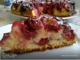 Простейший пирог с вишней