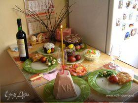Светлая Пасха - с Праздником, друзья!!!!