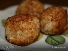 Рисовые шарики с моцареллой