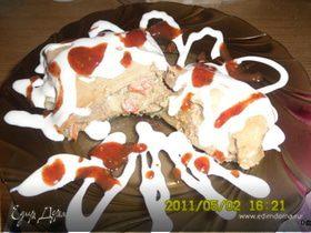 Блинчики с печенью