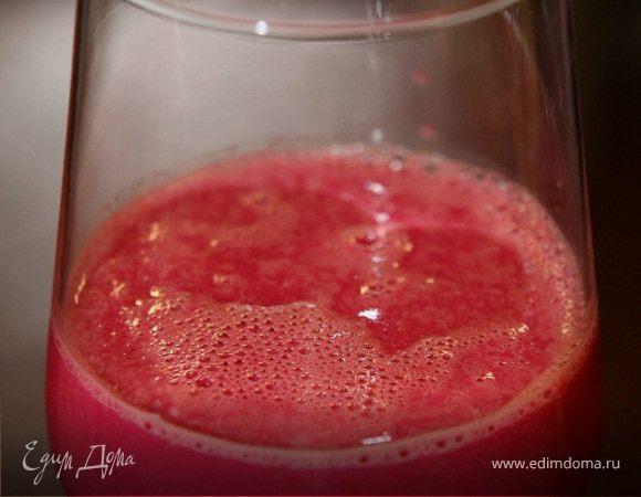 Вкусный и полезный коктейль со свеклой и апельсиновым соком