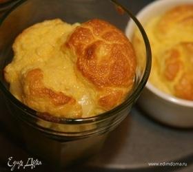Суфле из сыра пеше миньон с мускатным орехом