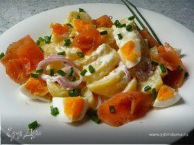 Питательный яичный салат